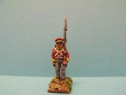 Hanoverian Landwehr Shouldered Musket