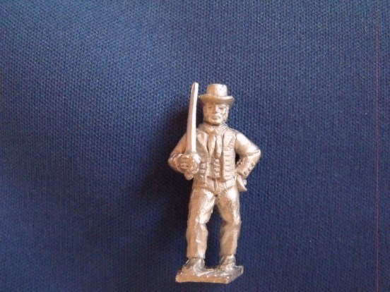 Ableseaman, Sword at shoulder, Round hat