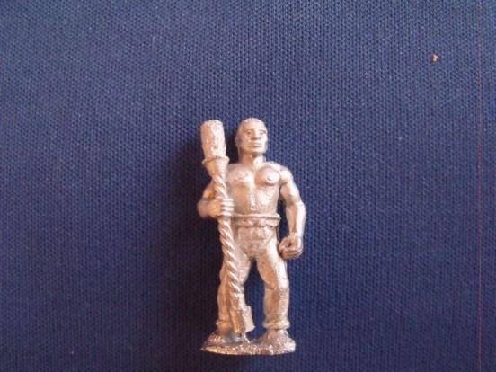 Gunner with Rammer, Afro-Caribbean, Bare chest