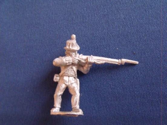 British Marine, Round hat, Firing