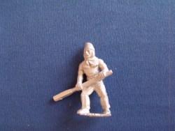 French Gunner with Handspike, woollen hat, bare chest