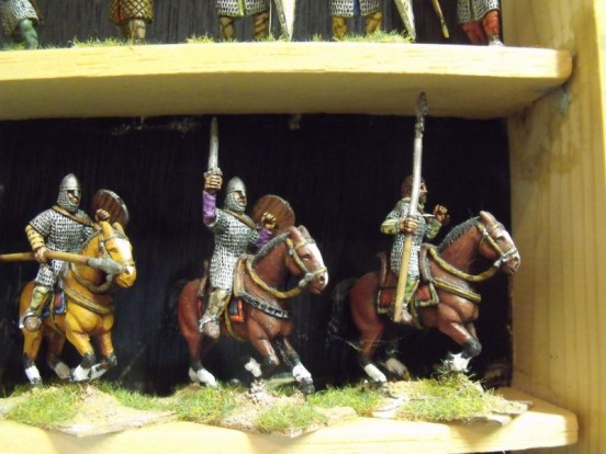 Norman Cavalry in Chainmail