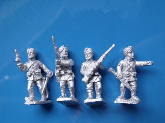 Sikh Sepoys Advancing