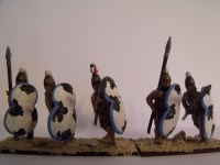 Painted Mycenean Pikemen