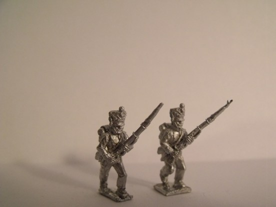 Fusiliers Advancing