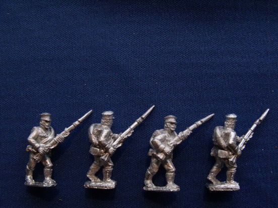 Reserve Infantry Advancing