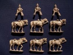 Horse Artillery Team(6) with riders(3)