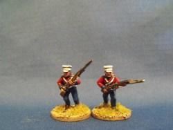 British Foot Campaign Dress Advancing