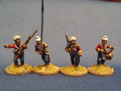 Sikh Regular Command Advancing