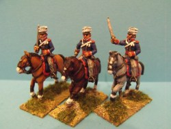 British Light Dragoons Charging