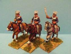 British Light Dragoons Charging