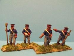 British Foot Artillery Crew