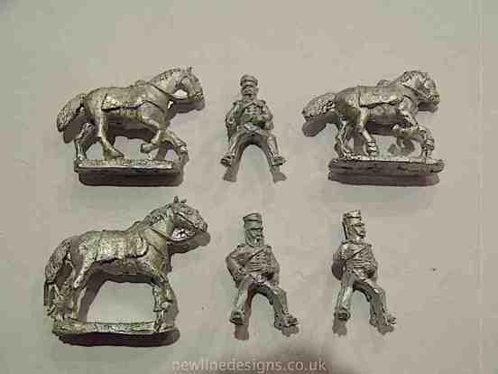 British Lancers Charging