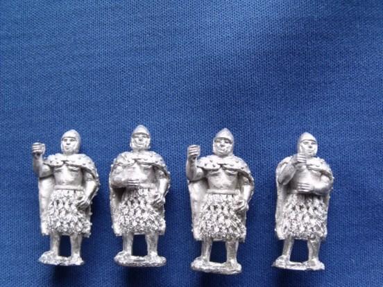 Sumerian Spearmen standing