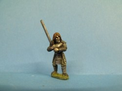 Vampire Guard - Standing, Armoured, Sword at Shoulder