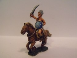 Witchcult Warrior on Wicker Horse - with Sword