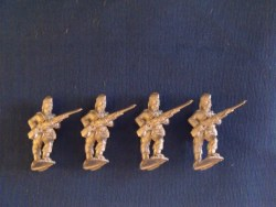 Infantry Advancing in Glengarry