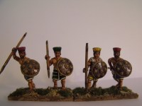 Painted Seapeoples in Crested Helmet