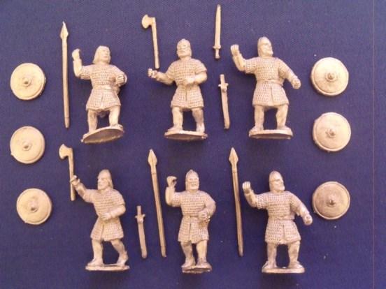 Viking Swordsmen/Spearmen in Chainmail