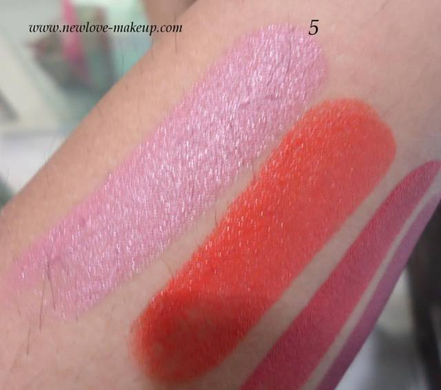 Colorbar Soft Touch Lipstick All Swatches