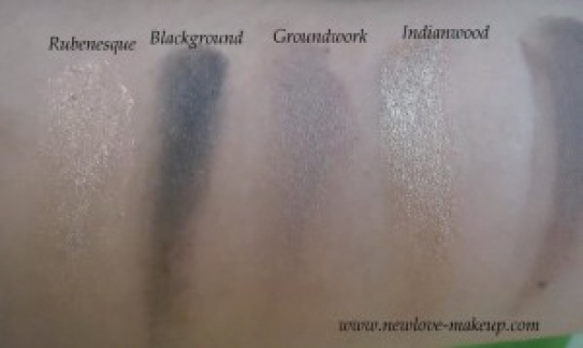 MAC Paint Pots Swatches