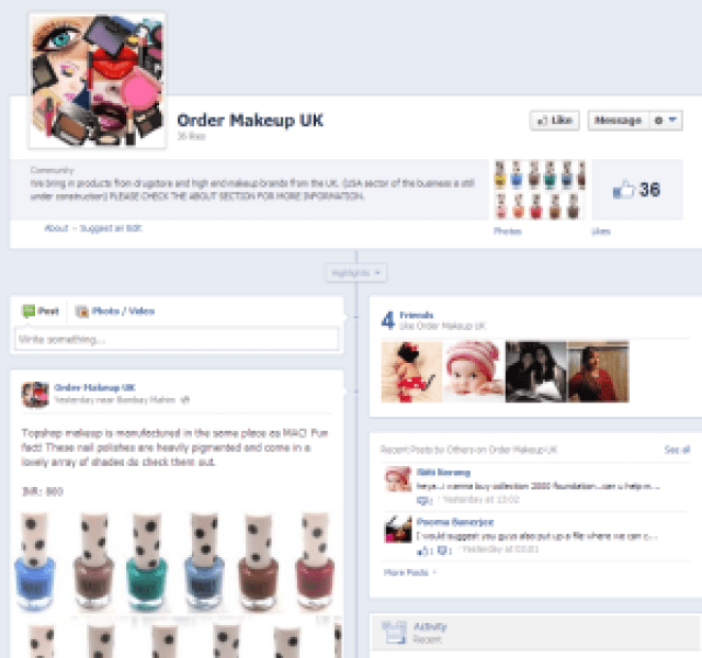 Order Makeup UK: Get UK and US Brands in India