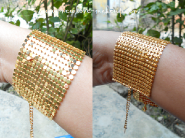 AVON Gold Mesh Bracelet Review