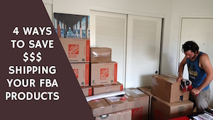 <center><b>4 Ways To Save Money Shipping Your FBA Products</b></center>