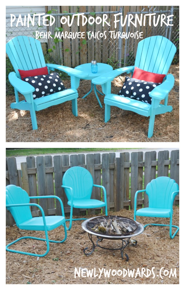 refreshing outdoor chairs with behr
