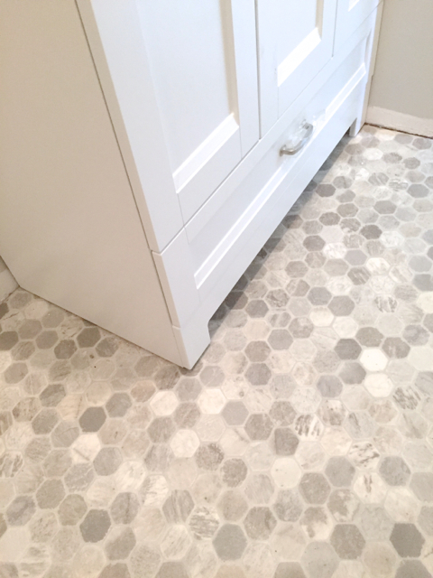 getting a hex tile look with vinyl