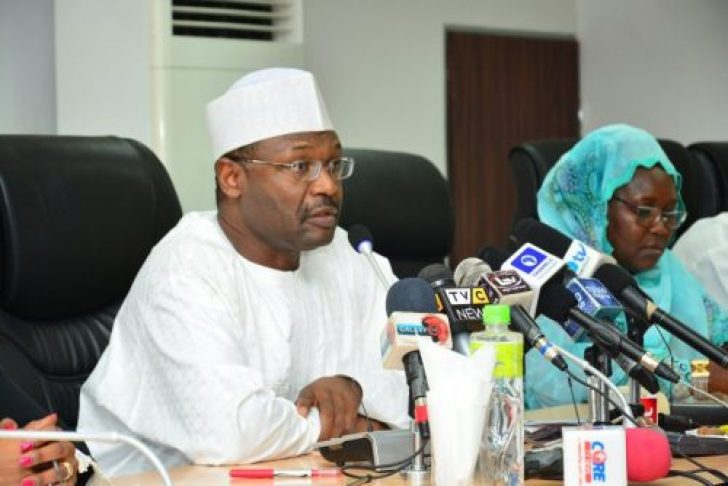 Image result for INEC Prof. Mahmood Yakubu on Friday in Kano  INEC Chairman Demands 1.2 Million Personnel To Conduct 2019 Elections Prof