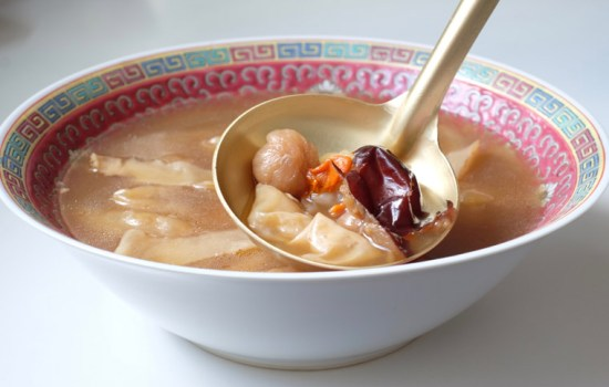 Fish Maw Herbal Soup