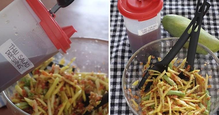 Thai Spicy Mango Salad