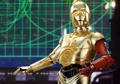 Mandela Effect C-3PO with Red Arm