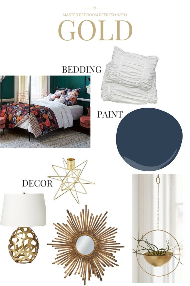interior design, master bedroom inspiration, anthropologie, navy paint