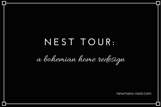 nest tour a bohemian home redesign