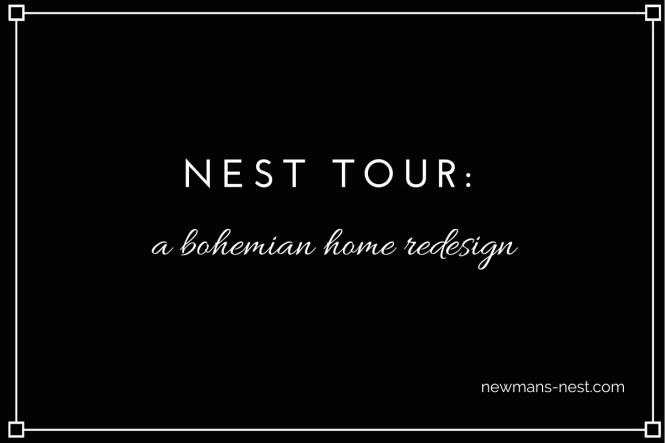 nest tour a bohemian home redesign