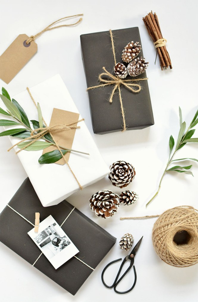 5 simple gift wrap ideas