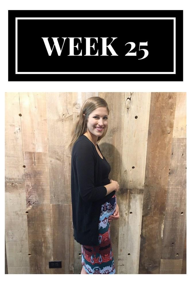 25 weeks pregnant, pregnancy bump, 25 weeks