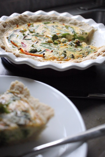 Dairy free quiche, dairy free recipe, brunch recipe, easy breakfast recipe