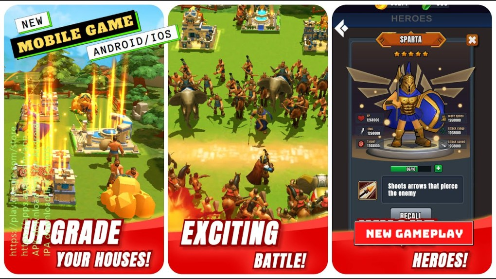 Mobile Games | Empire Clash Gameplay | New Game 2021