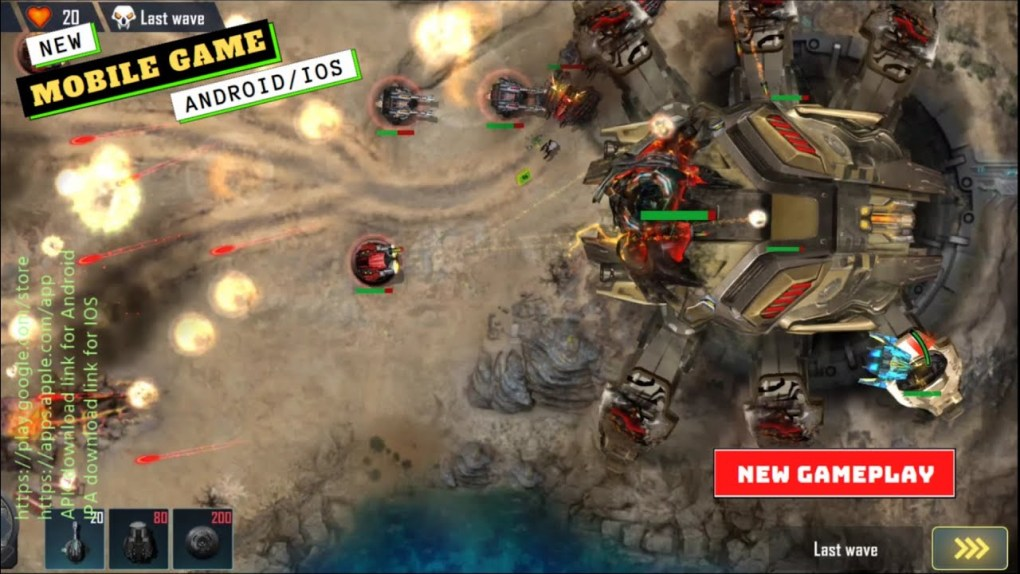 Mobile Games   Sci-Fi Tower defense Gameplay   New Game 2021
