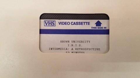 Intermedia: A Retrospective (I.R.I.S, Brown University)