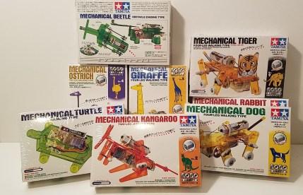 TAMIYA Robotic Critter Kits