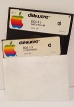 Apple II DOS 3.3 System Master Disks