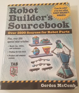 Robot Builder's Sourcebook by Gordon McComb