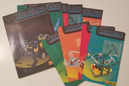 LEGO Dacta RoboLab 9780 Booklets