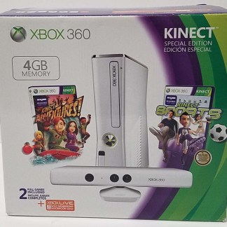 Xbox and Kinect by Microsoft