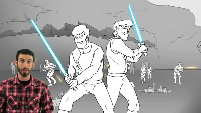 What if Star Wars Episode III Were Good opening battle