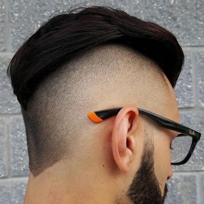 Comb Over Side Part Undercut